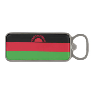 Malawi Flag Magnetic Bottle Opener