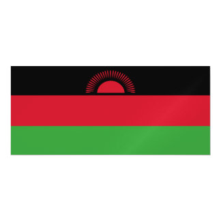 Malawi Flag Magnetic Invitations