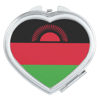Malawi Flag Makeup Mirror