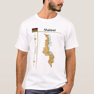 Malawi Flag + Map T-Shirt