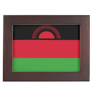 Malawi Flag Memory Box