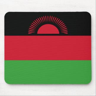 Malawi Flag Mouse Pad