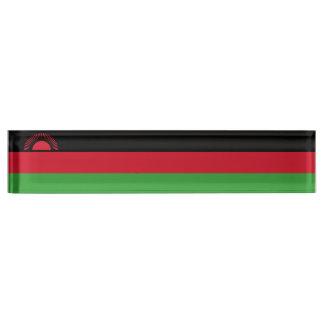 Malawi Flag Nameplate