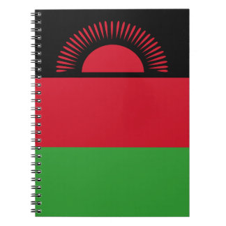 Malawi Flag Notebook