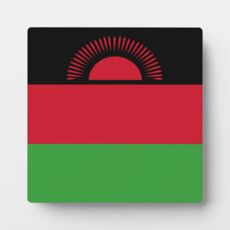 Malawi Flag Photo Plaque