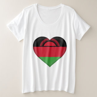 Malawi Flag Plus Size T-Shirt