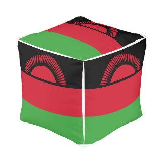 Malawi Flag Pouf