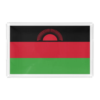 Malawi Flag Serving Tray