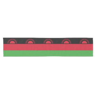 Malawi Flag Short Table Runner