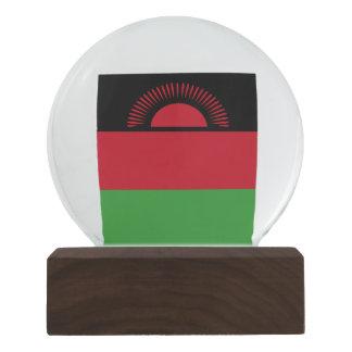 Malawi Flag Snow Globe