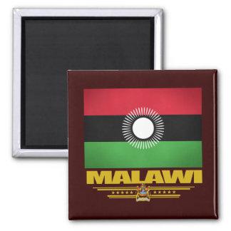 Malawi Flag Square Magnet