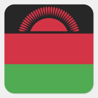 Malawi Flag Square Sticker