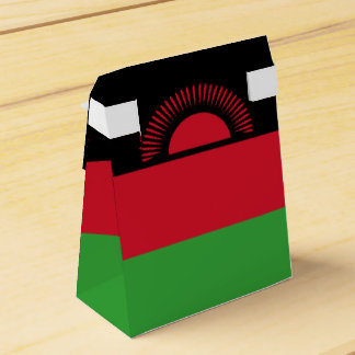 Malawi Flag Wedding Favor Box