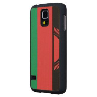 Malawi Flag Carved® Maple Galaxy S5 Case