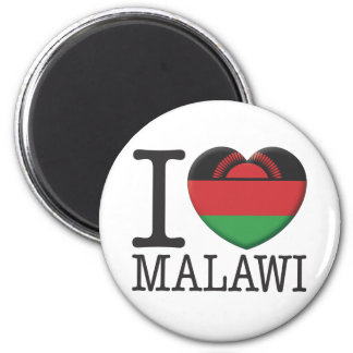 Malawi 2 Inch Round Magnet