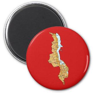Malawi Map Magnet