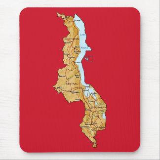 Malawi Map Mousepad
