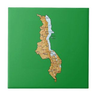 Malawi Map Tile