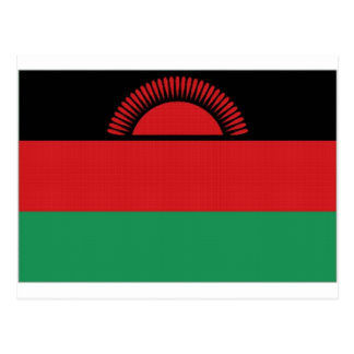Malawi National Flag Postcard