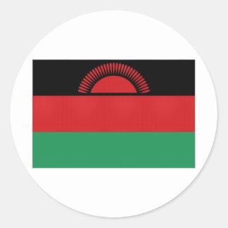 Malawi National Flag Round Sticker