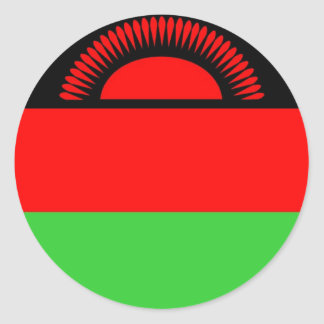 Malawi Round Sticker
