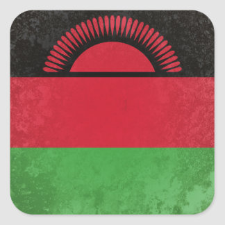 Malawi Square Sticker