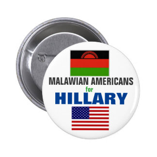 Malawian Americans for Hillary 2016 2 Inch Round Button