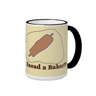 malaxez une tasse mignonne de boulanger