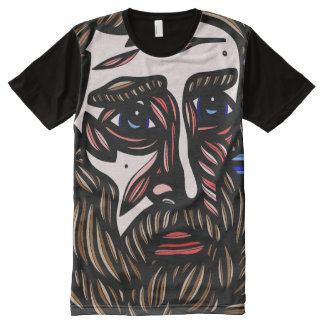 Malay Abstract 631 Art American Apparel Men's Shir