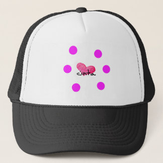 Malay Language of Love Design Trucker Hat