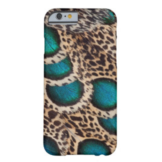 Malay Peacock-pheasant feathers Barely There iPhone 6 Case