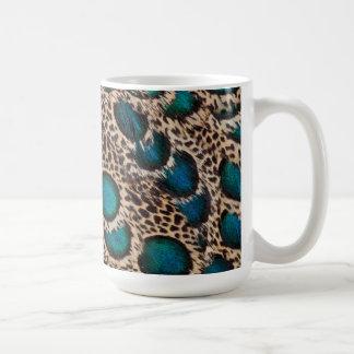 Malay Peacock-pheasant feathers Coffee Mug