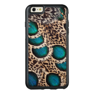 Malay Peacock-pheasant feathers OtterBox iPhone 6/6s Plus Case