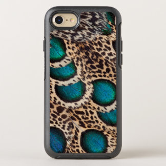 Malay Peacock-pheasant feathers OtterBox Symmetry iPhone 7 Case