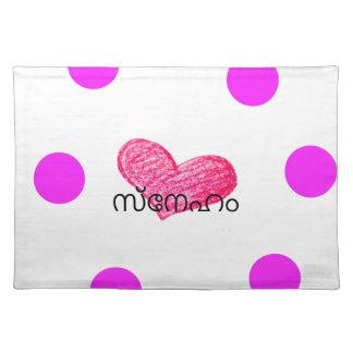 Malayalam Language of Love Design Placemat