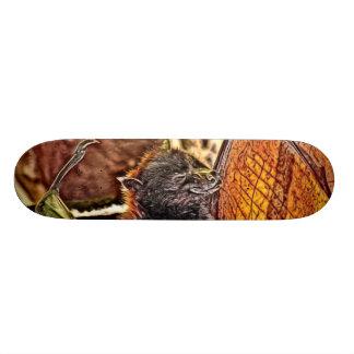Malayan Flying Fox Giant Bat Painting Skate Board Deck