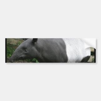 Malayan Tapir Bumper Sticker