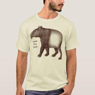 Malayan Tapir - Save the Tapir, I Love Tapirs T-Shirt