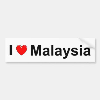 Malaysia Bumper Sticker