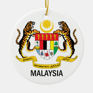 MALAYSIA - emblem/flag/symbol/coat of arms Ceramic Ornament