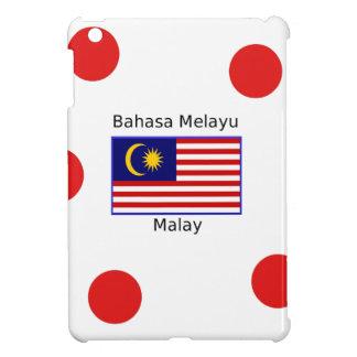 Malaysia Flag And Malay Language Design iPad Mini Covers