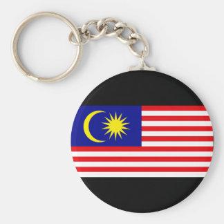 Malaysia Flag Basic Round Button Keychain