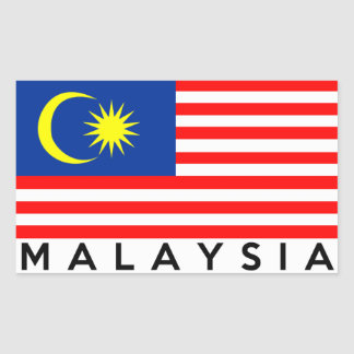 malaysia flag country text name sticker