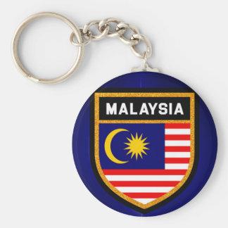 Malaysia Flag Keychain