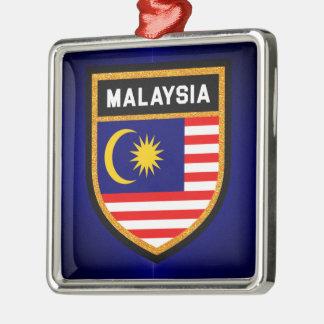 Malaysia Flag Metal Ornament
