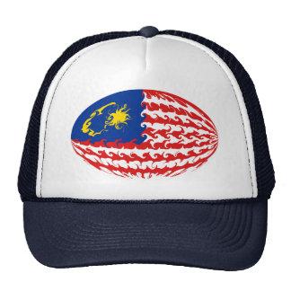 Malaysia Gnarly Flag Hat