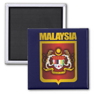 """""""Malaysia Gold"""" Magnet"""