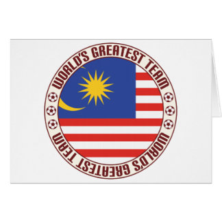 Malaysia Greatest Team Card