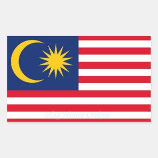 Malaysia - High Quality Flag Sticker