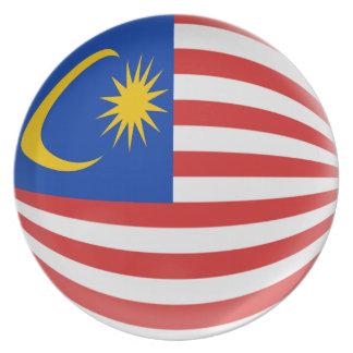 Malaysia Malaysian Flag Plate